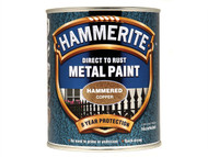 Hammerite HMMHFCO750 - Direct to Rust Hammered Finish Metal Paint Copper 750ml