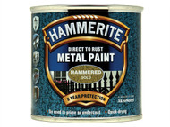 Hammerite HMMHFGO250 - Direct to Rust Hammered Finish Metal Paint Gold 250ml