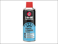 3-IN-ONE HOW44016 - 3-IN-ONE White Lithium Spray Grease 400ml