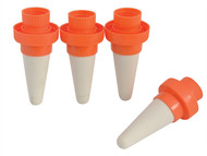 Hozelock HOZ2715 - Orange Aquasolo Watering Cone For Small 10in Pots Pack of 4