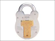 Henry Squire HSQ220 - 220 Old English Padlock with Steel Case 38mm