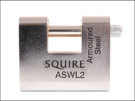 Henry Squire HSQASWL2 - ASWL2 Steel Armoured Warehouse Padlock 80mm