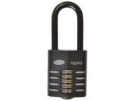 Henry Squire HSQCP6025 - CP60/2.5 Combination Padlock 5-Wheel 60mm Extra Long Shackle 63mm