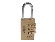Henry Squire HSQCTL1 - CTL1 Brass Tool Box Combination Lock 30mm