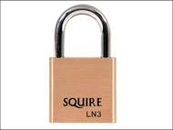 Henry Squire HSQLN3 - LN3 Lion Brass Padlock 30mm