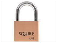 Henry Squire HSQLN5 - LN5 Lion Brass Padlock 5-Pin 50mm