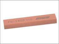 India INDFS14 - FS14 Round Edge Slipstone 100mm x 25mm x 11mm x 5mm - Fine