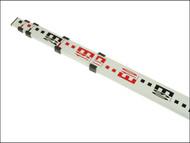 Stanley Intelli Tools INT177162 - 5 Section 5m Aluminium Grade Rod