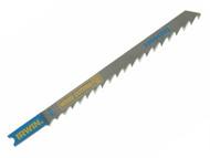IRWIN IRW10504288 - U101BP Jigsaw Blades Wood Cutting Pack of 5