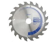 IRWIN IRW10506788 - Circular Saw Blade 140 x 20mm x 20T Professional Fast Rip