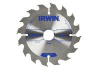 IRWIN IRW1897086 - Circular Saw Blade 125 x 20mm x 16T ATB