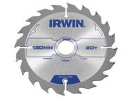 IRWIN IRW1897087 - Circular Saw Blade 130 x 20mm x 20T ATB