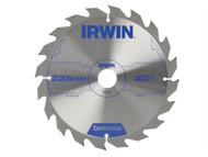IRWIN IRW1897207 - Circular Saw Blade 235 x 30mm x 20T ATB