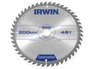 IRWIN IRW1897212 - Circular Saw Blade 300 x 30mm x 48T ATB