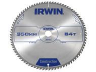 IRWIN IRW1897346 - Circular Saw Blade 350 x 30mm x 84T ATB