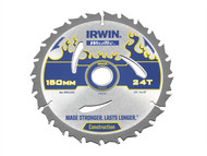IRWIN IRW1897349 - Weldtec Circular Saw Blade 150 x 20mm x 24T ATB