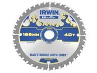 IRWIN IRW1897394 - Weldtec Cordless Circular Saw Blade 165 x 20mm x 40T ATB C
