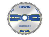 IRWIN IRW1897430 - Construction Circular Saw Blade 254 x 30mm x 80T ATB/Neg M