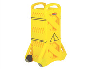 IRWIN IRWBARRIER1 - Portable Mobile Barrier Yellow 9S11