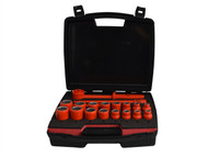 ITL Insulated ITL03095 - Insulated Socket Set of 19 1/2in Drive