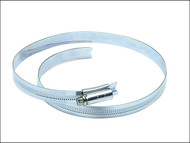 Jubilee JUB105 - 10.1/2in Zinc Protected Hose Clip 235 - 267mm (9.1/4 - 10.1/2in)