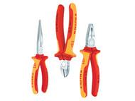 Knipex KPX002012 - Elektro Pack - VDE Certified Pliers Set (3)