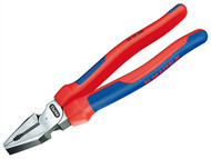 Knipex KPX0202225 - High Leverage Combination Pliers Multi Component Grip 225mm