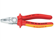 Knipex KPX0306200 - Combination Pliers VDE Certified Grip 200mm