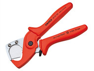 Knipex KPX9020185 - Plastic Conduit Pipe / Hose Cutter 25mm Diameter