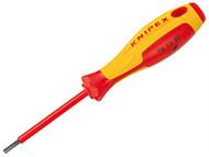 Knipex KPX981330 - VDE Screwdrivers For Socket Screws 3.0mm