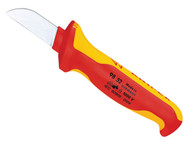 Knipex KPX9852 - Cable Knife VDE Insulated
