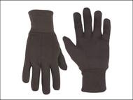 Kuny's KUN2008 - Brown Jersey Stretch Gloves (One Size)