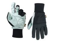 Kuny's KUN260L - Hybrid-260 Suede Palm Knit Wrist Glove Large (Size 10)