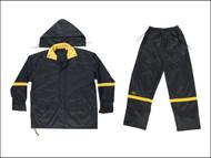 Kuny's KUNR103L - R103 3-Piece Black Nylon Suit - L