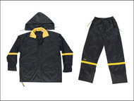 Kuny's KUNR103M - R103 3-Piece Black Nylon Suit - M