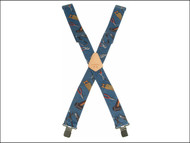 Kuny's KUNSP15HTBL - SP-15HTPL Blue Hand Tool Braces 2 in Wide