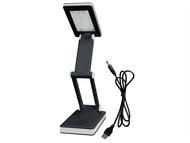 Lighthouse L/HSMDDESK - Foldable Desk Light 30 SMD LED 100 Lumens