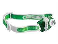 LED Lenser LED6103 - SEO3 Head Lamp Green Test It Pack