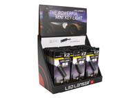 LED Lenser LED8252DA - K2 Key-Light Keyring Torch POS (18 x K2) with Auto Header