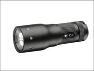LED Lenser LED8313TP - K3 Black Key Ring Torch Test It Blister Pack