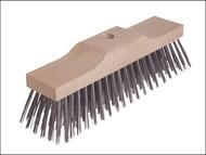 Lessmann LES146201 - Broom Head Raised Wooden Stock 6 Row 300mm x 70mm