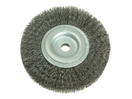 Lessmann LES334162 - Wheel Brush D125mm x W20-22 x 40 Bore Set 2 Steel Wire 0.30