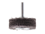 Lessmann LES415164 - Wire Wheel Brush With Shank 50 x 20mm 0.30 Steel Wire