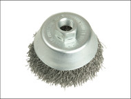 Lessmann LES424177 - Cup Brush 80mm M14 x 0.35 Steel Wire
