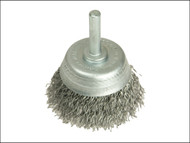 Lessmann LES43012307 - DIY Cup Brush With Shank 50mm x 0.35 Steel Wire