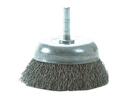 Lessmann LES43013307 - DIY Cup Brush With Shank 75mm x 0.35 Steel Wire