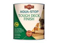 Liberon LIBASTDFMO25 - Aqua-Stop / Advanced Protection Tough Decking Finish Medium Oak 2.5 Litre