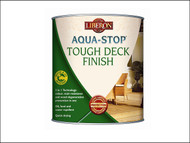 Liberon LIBASTDFMO5 - Aqua-Stop / Advanced Protection Tough Decking Finish Medium Oak 5 Litre