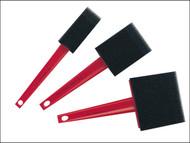 Liberon LIBFAP3 - Foam Applicator (Pack of 3)