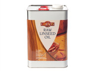 Liberon LIBRLO5L - Raw Linseed Oil 5 Litre